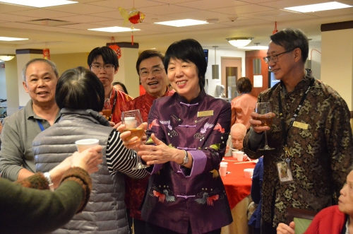 Chinese New Year Banquet for Residents and FM94.7 Broadcasting