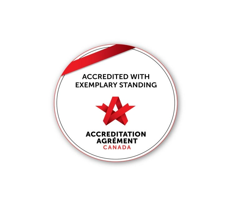 Exemplary Standing from Accreditation Canada