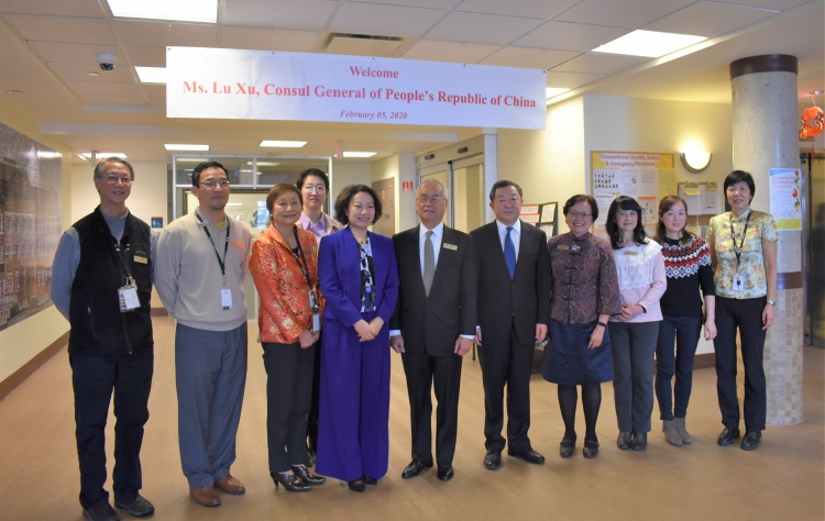 Visit From Consul General of People's Republic of China, Madam Lu Xu